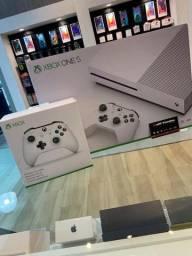 Xbox One S 1 tb com leitor - Loja Fisica - Garantia !