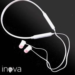 Fone de Ouvido Bluetooth sem Fio Fone com Microfone Inova O L X