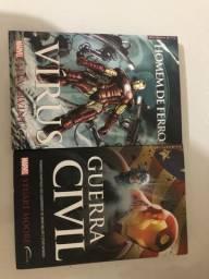 Livros: Homem de Ferro e Guerra Civil