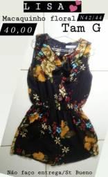 1 Macaquinho LISA tam G n42/44 floral original