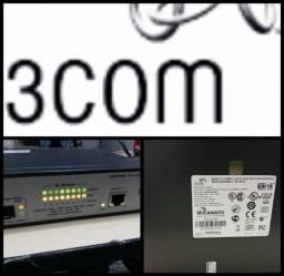 Desapego switch 9 portas poe 10/100/1000 mbps 3com no estado