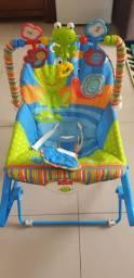 Cadeira de balaço ficher price com vibra, valor 200 reais