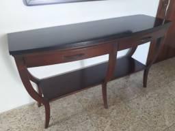 Aparador de madeira maciça - 150x49,5x86cm