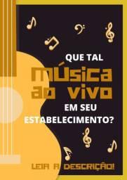 Música Ao Vivo no FERIADÃO!
