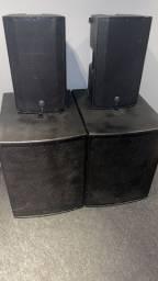 Conjunto de caixas para igrejas ou eventos