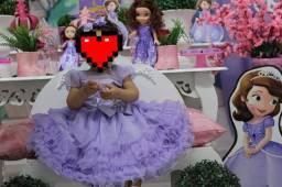 Vestido infantil festa (1 aninho)