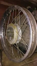 Roda titan 150 traseira raios 4 mm