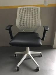 Cadeira Diretor Reclinável Black & White