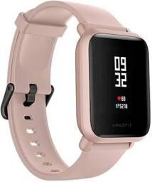 Relógio Smartwatch Xiomi Amazifit Bip Lite Bluetooth Rosa