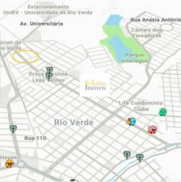 Lote Rio Verde Residencial Interlagos, Próximo ao Lago ,Urgência na venda