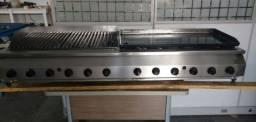 Chair broiler + chapa + fogão tudo sob medida fabricação