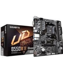 Na caixa ainda - Placa mãe Gigabyte B550M H DDR4 AM4