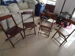 cadeiras desarmaveis bohemia so 70 cada