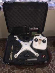 Vendo drone phantom 1 funcionando em perfeitamente  com acessórios a mas,aceito trocar