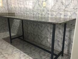 Bancada de mármore 180cm X 70cm