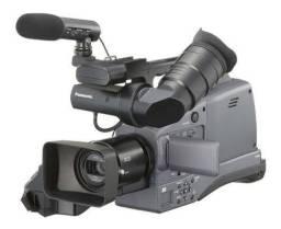Filmadora Panasonic HMC 70 entrada cartão SD