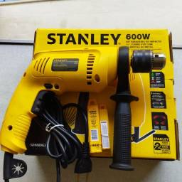 Furadeira De Impacto Stanley 600w Sdh600g20 C/kit 20 Brocas