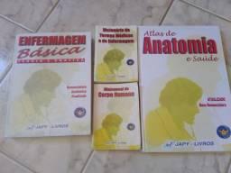Coleção livros de enfermagem