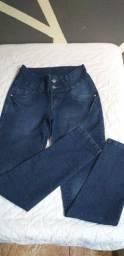 O lote calça jeans + Jaqueta forrada barato