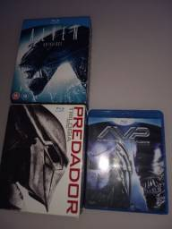 Box Blu-ray Alien e Predador 8 (filmes)