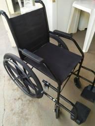 Cadeira de rodas e banho