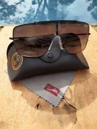 Óculos de Sol Ray-Ban Wings II Preto - RB3697 - 002/11/35<br><br>