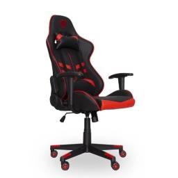 Cadeira Gamer Prime X | Preto e Vermelho | Dazz