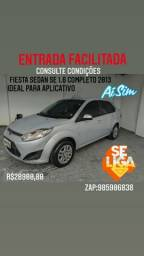 Fiesta sedan 1.6 completo flex 2013