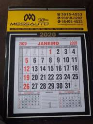 Título do anúncio: Calendários promocionais personalizados $3.00