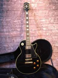 Guitarra Epiphone Les Paul Custom 2009 com case