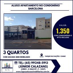 Alugo apartamento Barcelona 3 quartos (térreo) com 3 guarda-roupas