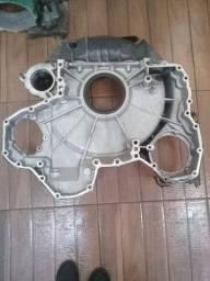 Capa seca do motor scania usada original