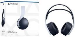 Headset Playstation 5 novo na caixa