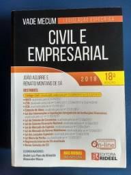 Vade Mecum civil e empresarial 2018 Ed. Rideel
