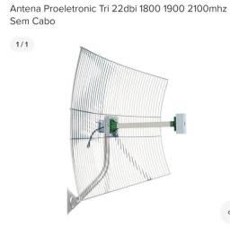Antena de celular triband 1800, 1900 e 2100mhz  22dbi