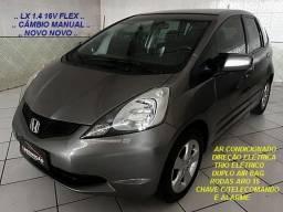 FIT-LX 1.4 16V Flex 101CV Câmbio Manual / 2012 + Laudo Aprovado / Novo Novo Novo