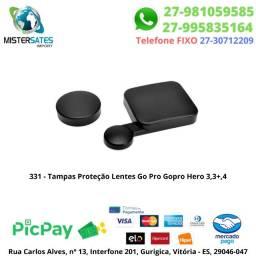 331 - Tampas Proteção Lentes Go Pro Gopro Hero 3,3+,4