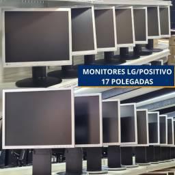Título do anúncio: Monitores 17 polegas Lg/Positivo! loja Fisica Curitiba! a partir de