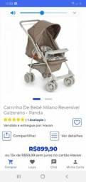 Vendo carrinho de bebê galzerano por 550