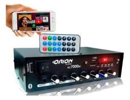 Amplificador 500w som ambiente Rc7000bt Orion