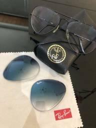 Título do anúncio: óculos ray-ban aviator original