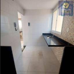 Título do anúncio: Apartamento com 2 dorms, Jardim Leblon, Belo Horizonte - R$ 185 mil, Cod: 635