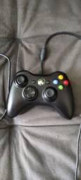 Controle Xbox 360 Original c/ fio
