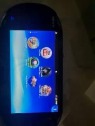 Ps Vita desbloqueado já com vários jogos