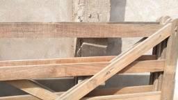 Porteira de madeira 2,00x1,50