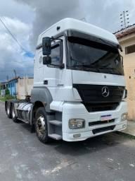 Caminhão 6x2 trucado teto alto Mercedes Benz Axor 2540
