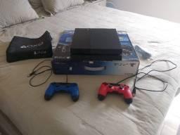Playstation 4 com HD Interno de 2 Teras