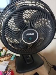 Ventilador Arno grande 3 velocidades turbo silencioso