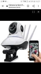 Vendo câmera 360 wifi HD. Novo na caixa