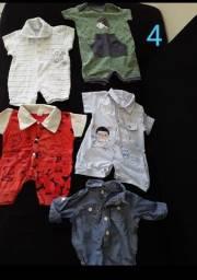 Roupa para bebê ( calças, body, conjunto, macacão)